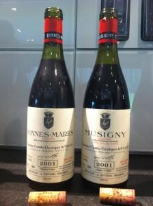 Outstanding: Musigny 2001, Vogüé
