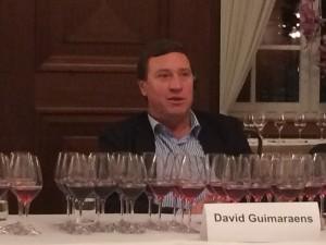 David Guimaraens - Winemaker der Fladgate Partnership und Nachkomme des legendären Manuel Pedro Guimaraens, dem Gründer von Fonseca