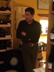 Martin Schwarz stellt seine Weine in der LA VINOTHEQUE in Freiberg vor