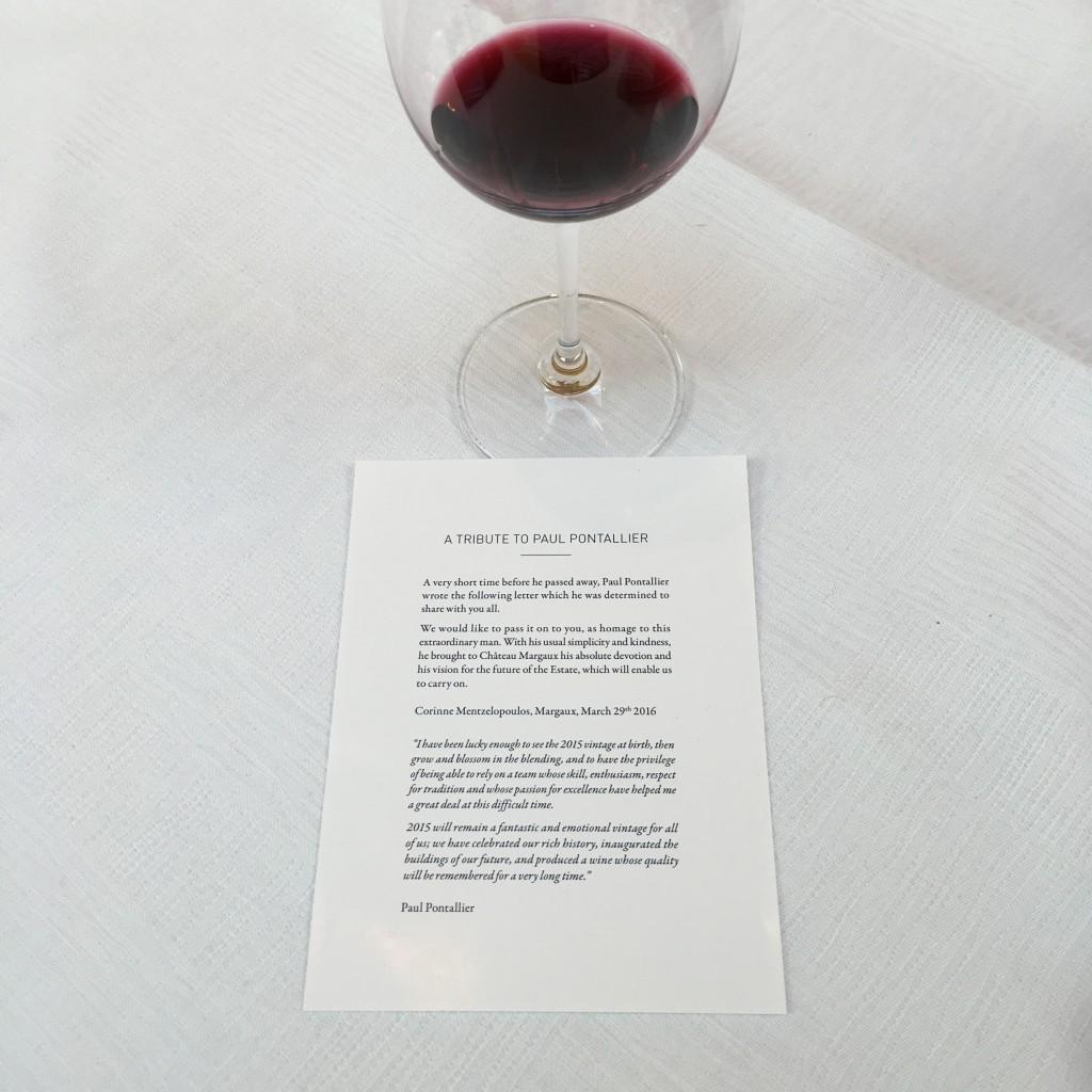 Der Wein des Jahres als Schlusspunkt eines beeindruckendes Lebenswerkes: Paul Pontallier, Château Margaux